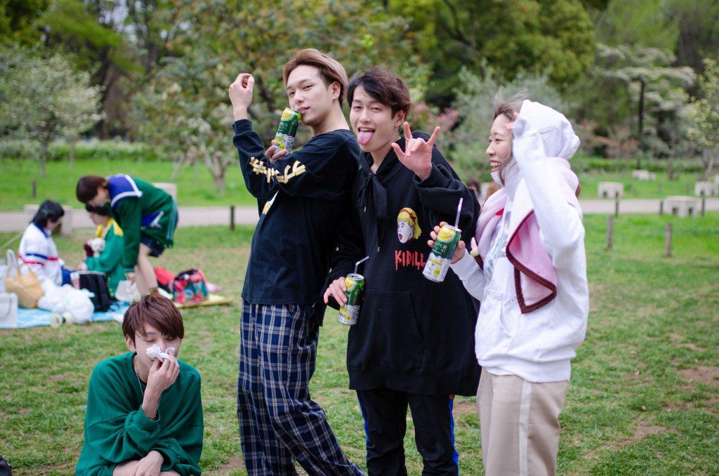 ילדים בפארק יויוגי
