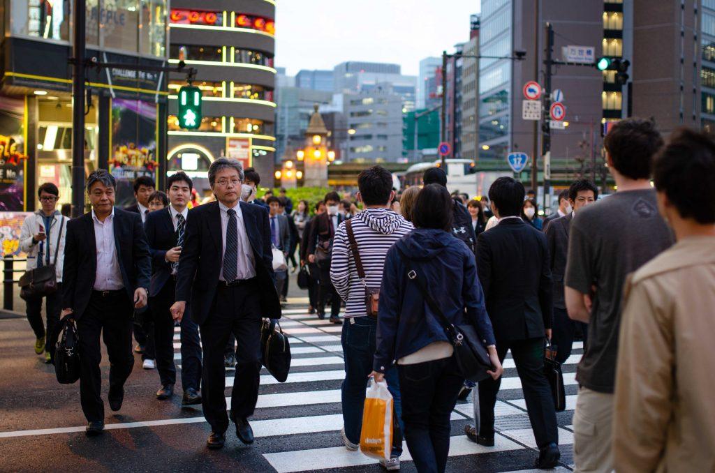 מעבר חצייה בטוקיו