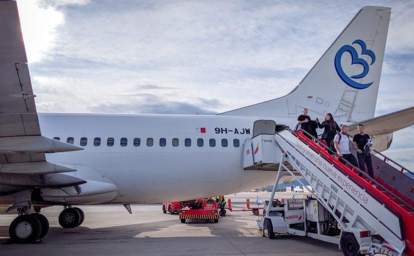 חוות דעת: ביקורת טיסה Bluebird Airways (בלו בירד איירווייז)